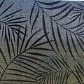 Raamfolie statisch-anti inkijk-Textiel Palms zwart 46cm x 1.5m