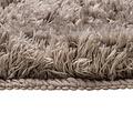 Classic Pure 60x90 cm  taupe bath mat