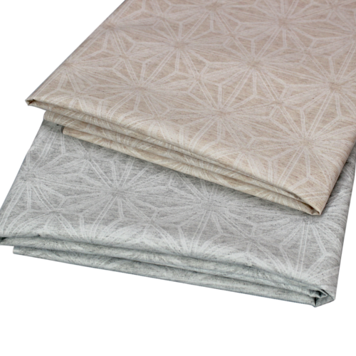 Coated table textiles Capricorne Pearl