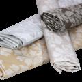 Coated table textiles Raine Coffee