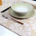 Coated table textiles Raine Vanilla