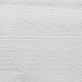 PVC oilcloth Crocco white