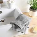 Handtuch grau 100% Baumwolle