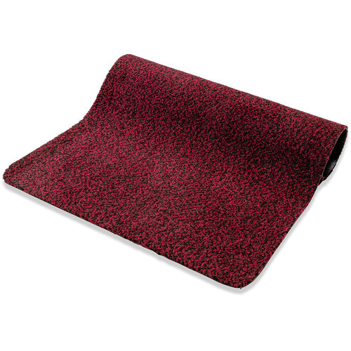 Reinigungsmatte Paris 40x60cm rot schwarz