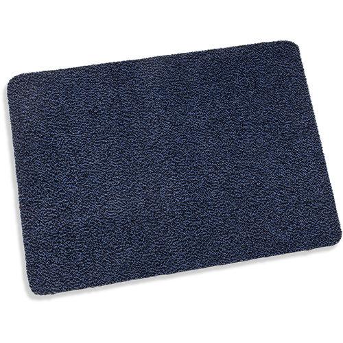 Reinigungsmatte Paris 60x80cm blau schwarz