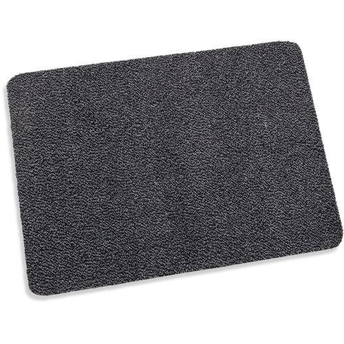 Deurmat-schoonloopmat Paris 80x120cm grijs zwart