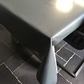Coated Table linen anthracite