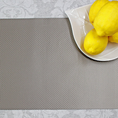 Placemats Honey taupe per 12 pieces