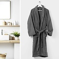 Bathrobe One size color anthracite