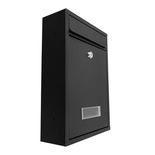 Mailbox Hugo - black