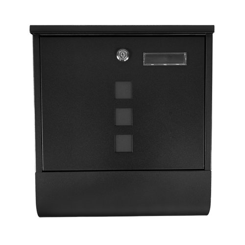 Mailbox Luz- Black