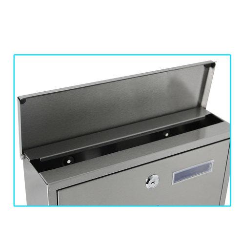 Mailbox Santos - Silver