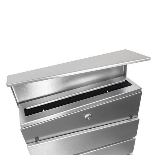 Mailbox Esteban - Silver