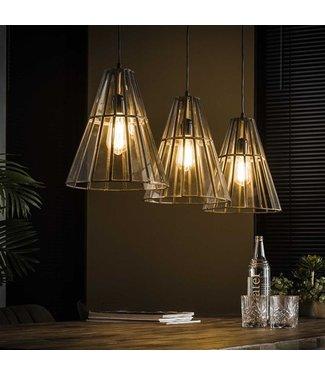 Hanglamp Industrieel 3L Artdeca kegelvormig