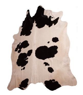 Dimehouse Peau de vache 140x200 noir-blanc