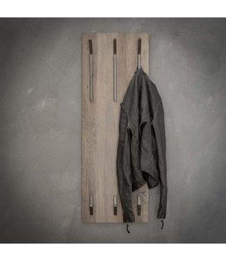 Portemanteau 2x3 Crochets Haut MDF