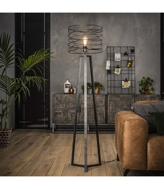 Staande Lamp Industrieel Twist Ø40
