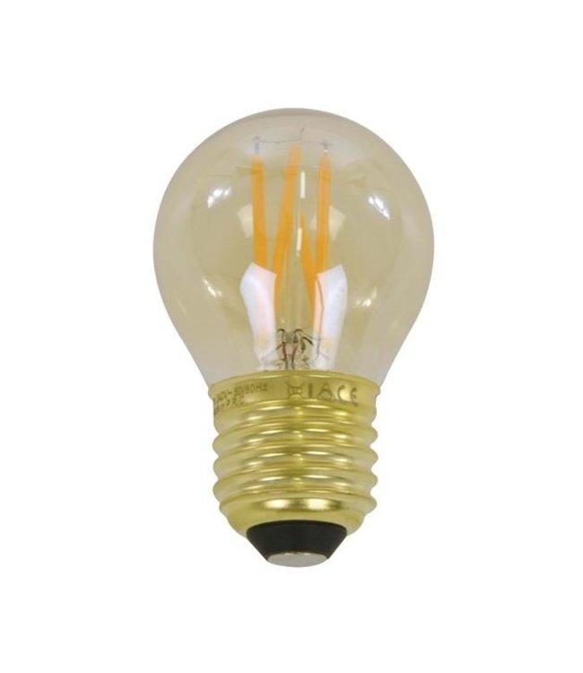 Ampoule LED filament sphère Ø4,5