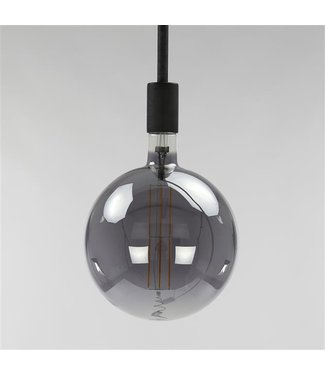 Lichtbron LED filament bol Ø 20 Smoke Grey
