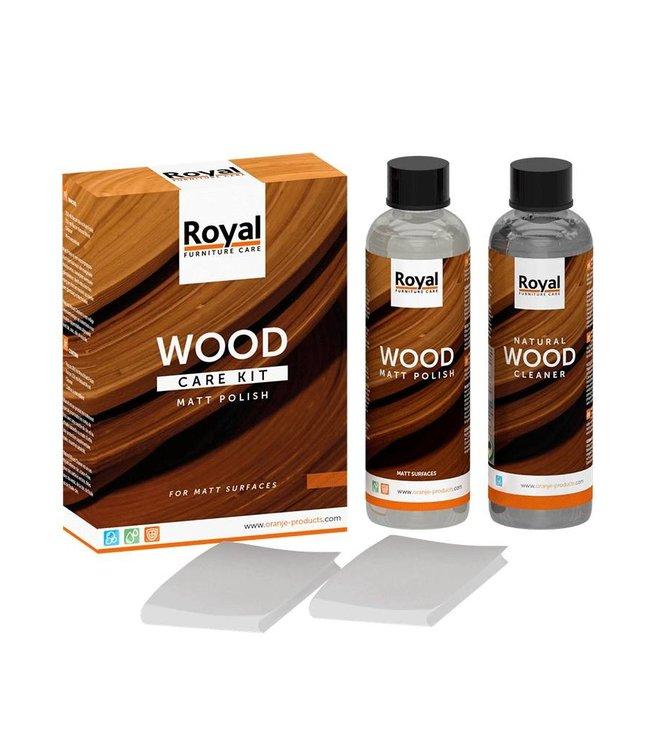 Kit d'entretien du bois 2 x 250 ML