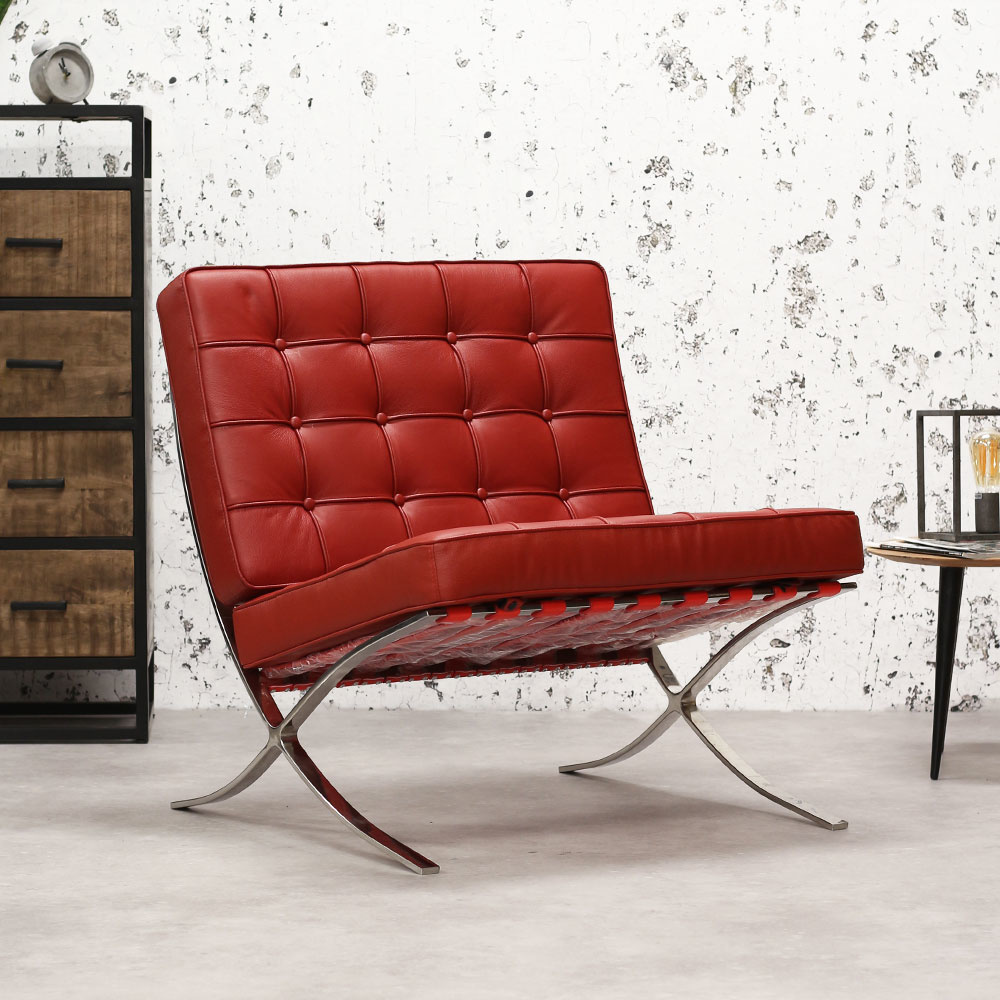 Fauteuil Rood Leer.Premium Leer Expo Fauteuil Rood Mega Deal Dimehouse