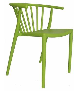 Dimehouse Chaise de jardin moderne Nour vert lime