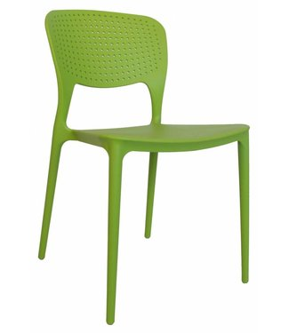 Dimehouse Chaise de jardin moderne Nino vert lime