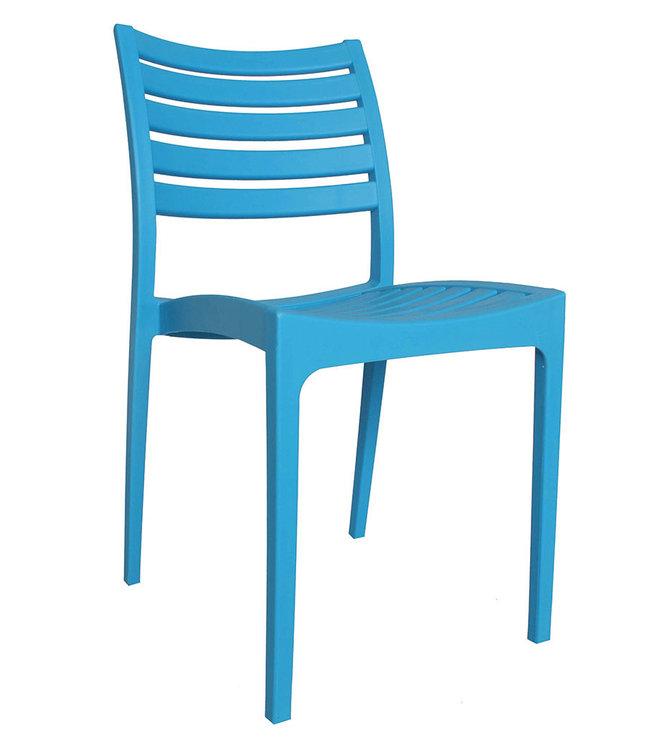 Dimehouse Chaise de jardin moderne Senna bleu