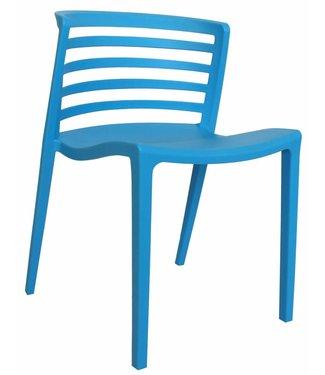 Dimehouse Chaise de jardin moderne Norrie bleu