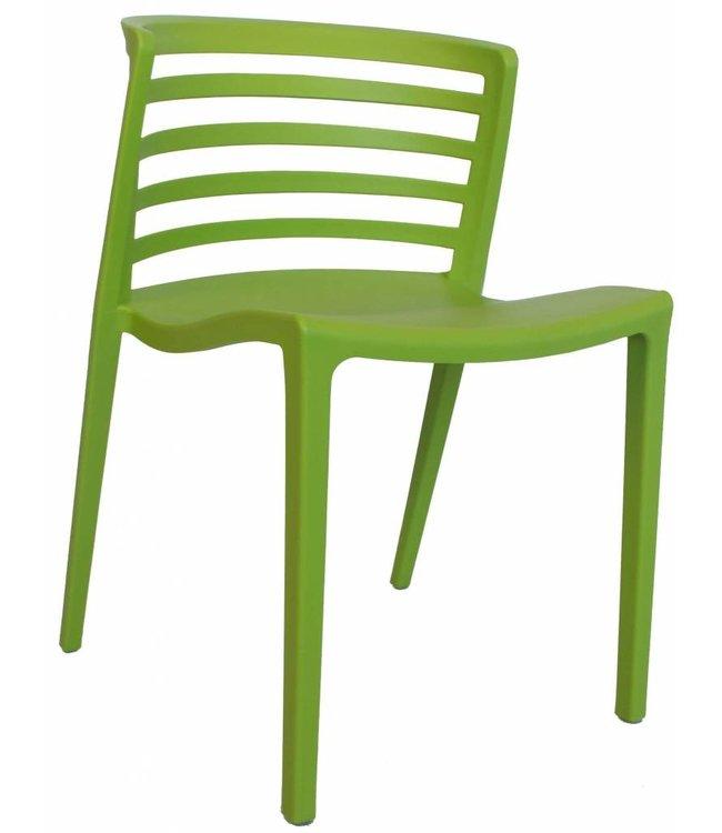 Dimehouse Chaise de jardin moderne Norrie vert lime