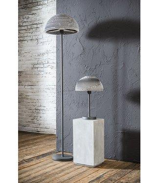 Dimehouse Staande Lamp Industrieel Ziggy zilver