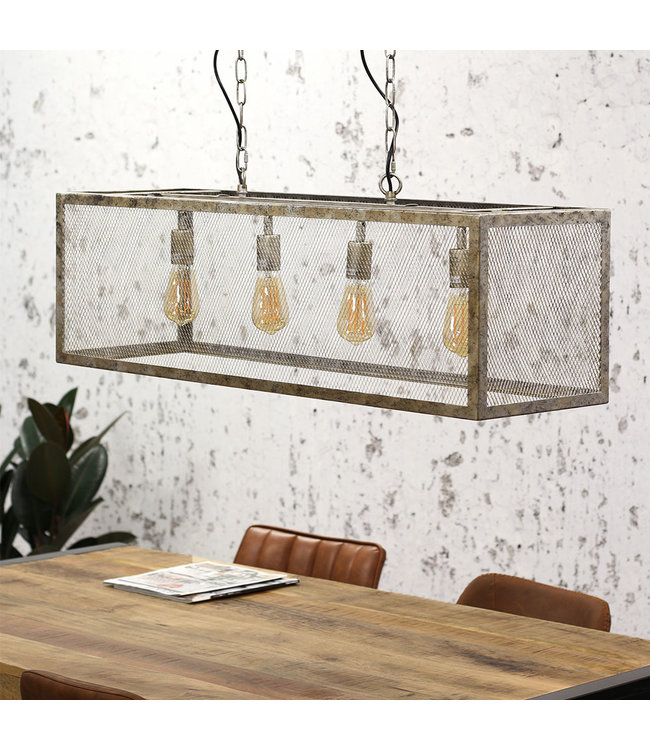 Dimehouse Hanglamp Industrieel Brighton 4L