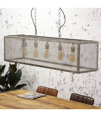 Dimehouse Hanglamp Industrieel Brighton 5L