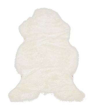 Dimehouse Peau de Mouton blanc 85x65 cm