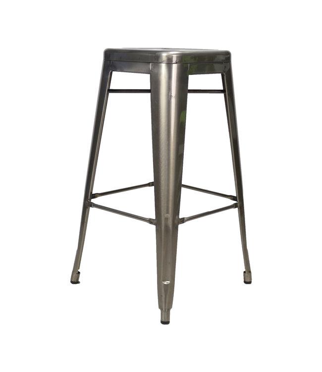 Tabouret De Bar Métal Industriel - Blade