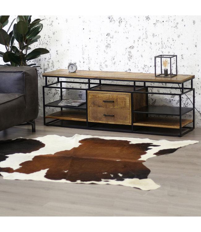 Dimehouse Industrieel TV-meubel metaal hout Pasadena