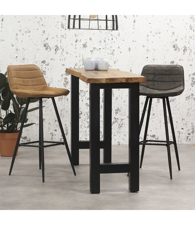 Dimehouse Table De Bar Bois Industriel 150x50 cm - Bruce