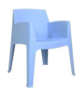 Dimehouse Chaise De Jardin Bleue Ella