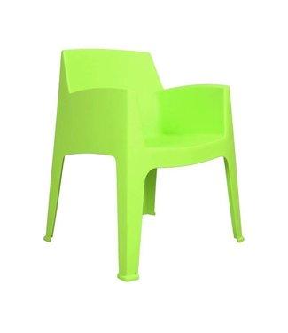 Dimehouse Chaise De Jardin Verte Lime Ella
