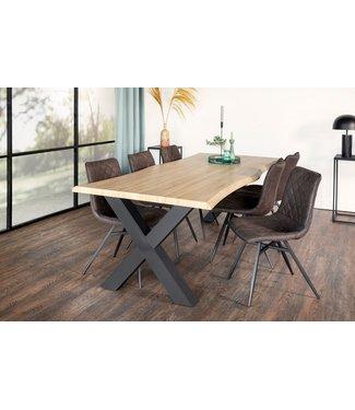 Table De Salle À Manger Industrielle 160x90 cm  - Jane