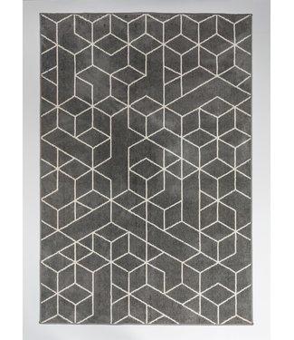 Dimehouse Tapis Gris 160x230 cm Lynn