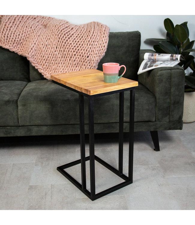 Table PC Portable Industrielle Sydney Bois