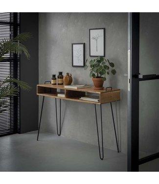 Coiffeurse Bois D'Acacia Design Industriel - Aimée