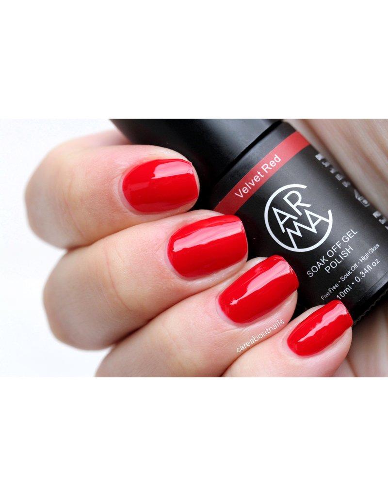 CARMA   #020 Velvet Red Gelpolish