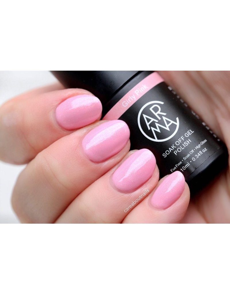 CARMA   #003 Girly Pink Gelpolish