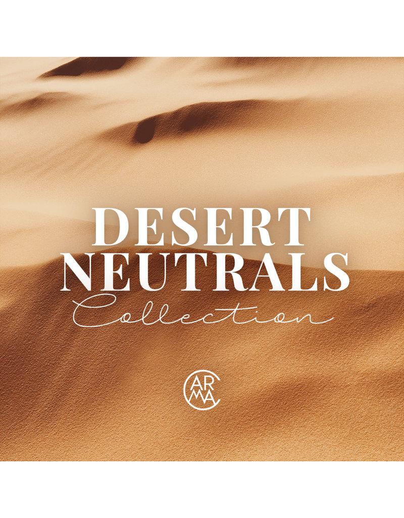 CARMA   Desert Neutrals Rubber Base Collection 8pcs Set