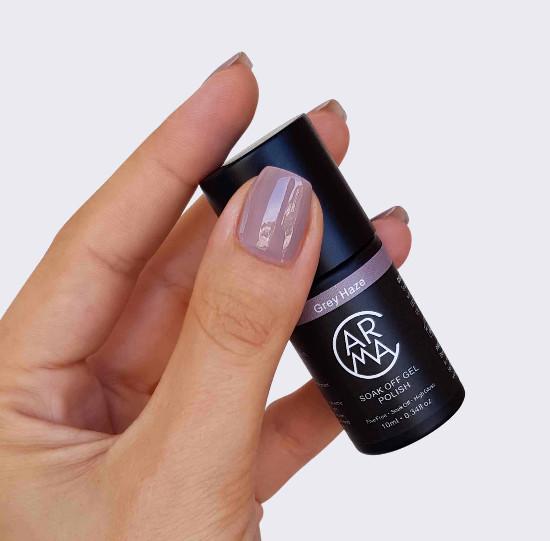 CARMA Grey Haze Soak Off Gel Polish
