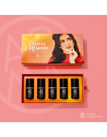 CARMA   Joyful Memoirs Gelpolish Collection 5pcs Color Box