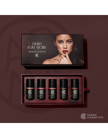 CARMA   Lavish Love Story Gelpolish Collection 5pcs Color Box