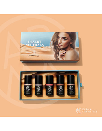 CARMA   Desert Neutrals Gelpolish Collection 5pcs Color Box